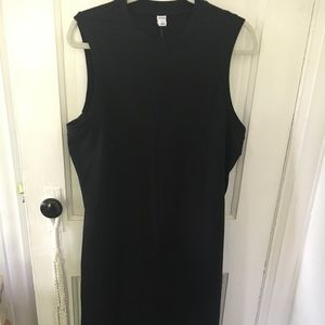 High Neck Midi Dress with Slip